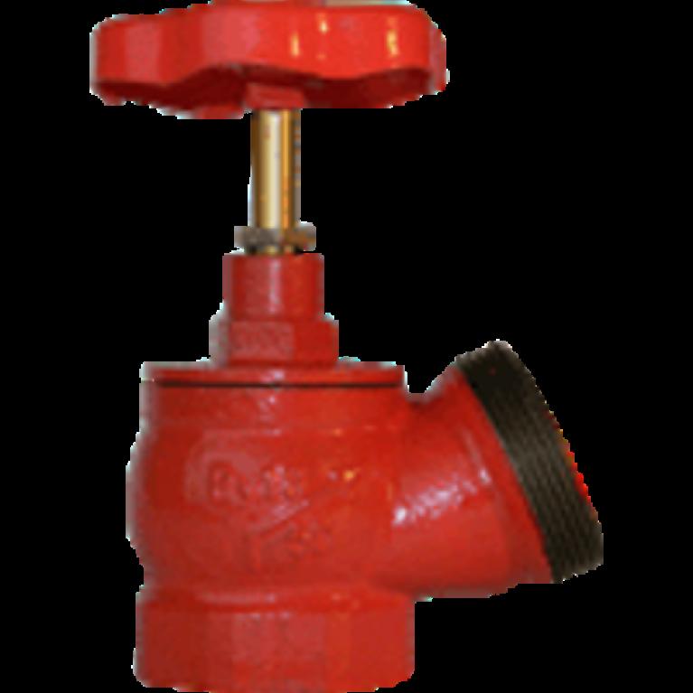 Клапан пожарный чугунный КПЧ с датчиком положения угловой 125гр Апогей