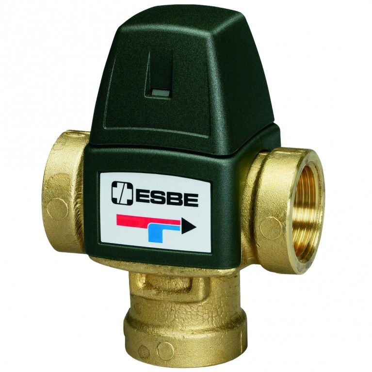 Клапан термостатический ВР/ВР Ру10 Esbe