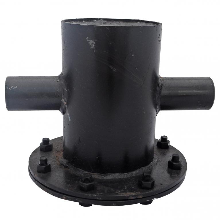 Грязевик верт для механической очистки рабочей среды сталь Ру16 п/привар