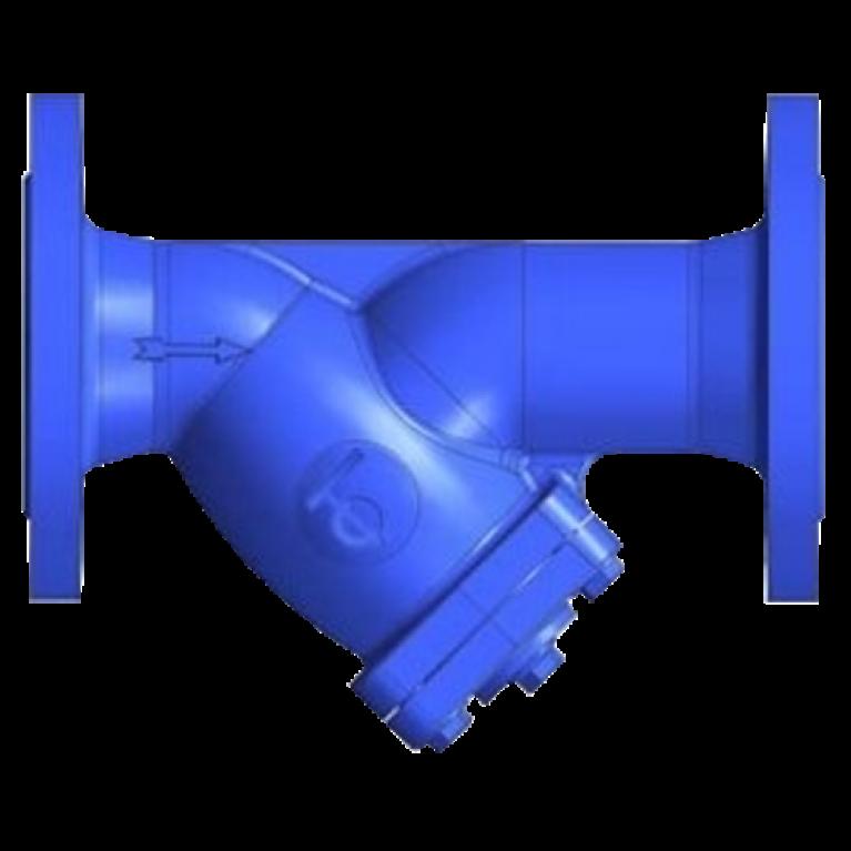 Фильтр сетчатый магнитный чугун F3240NA Ру16 фл Tecofi
