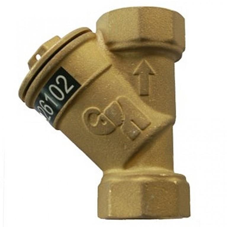 Фильтр сетчатый магнитный латунь ФСП Ру16 ВР Водоприбор