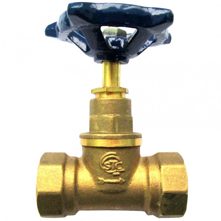 Клапан запорн прямой латунь 15б3р ВР/ВР STC