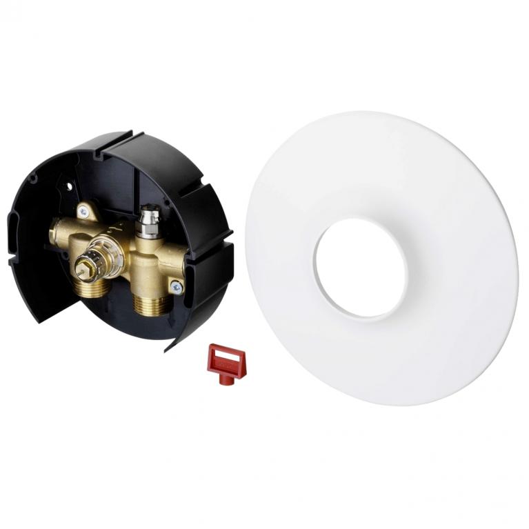 Клапан термостатический FHV-R для двухтр Ру10 НР для регулирования температуры обратной воды Danfoss