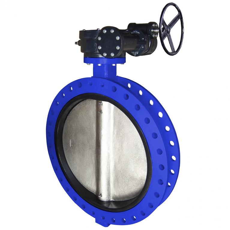 Затвор дисковый поворотный VPE4448-08EP межфл Tecofi