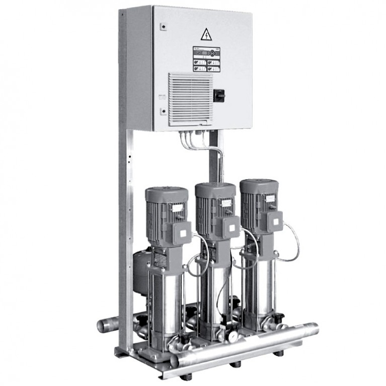 Установка повышения давления CO-4 MVIS Wilo