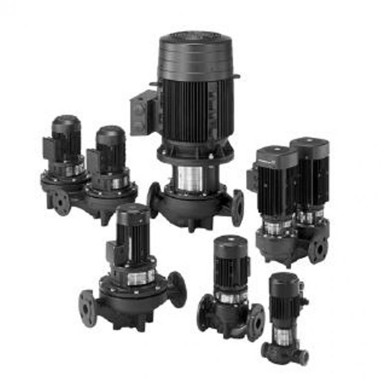 Насос ин-лайн TP серия 100 2900 об/мин уплотнение BQBE Grundfos