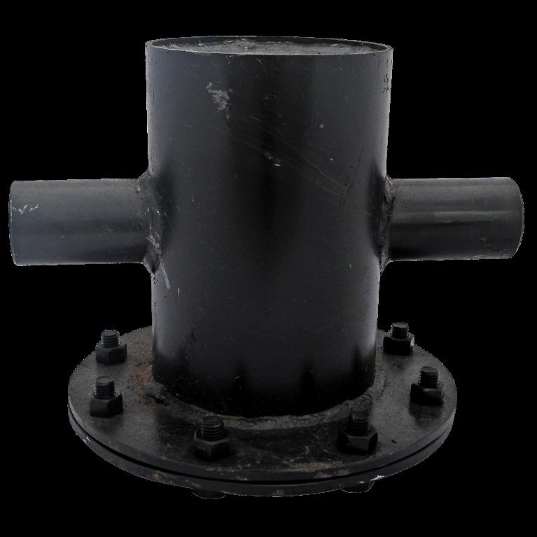 Грязевик верт для механической очистки рабочей среды сталь Ру16 п/привар КАЗ
