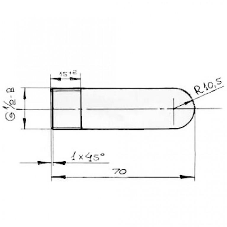 Заглушка сталь НР ГОСТ 3262-75