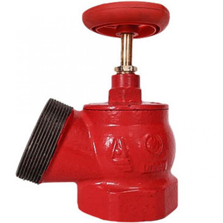 Клапан пожарный чугунный КПЧ угловой 125гр Апогей