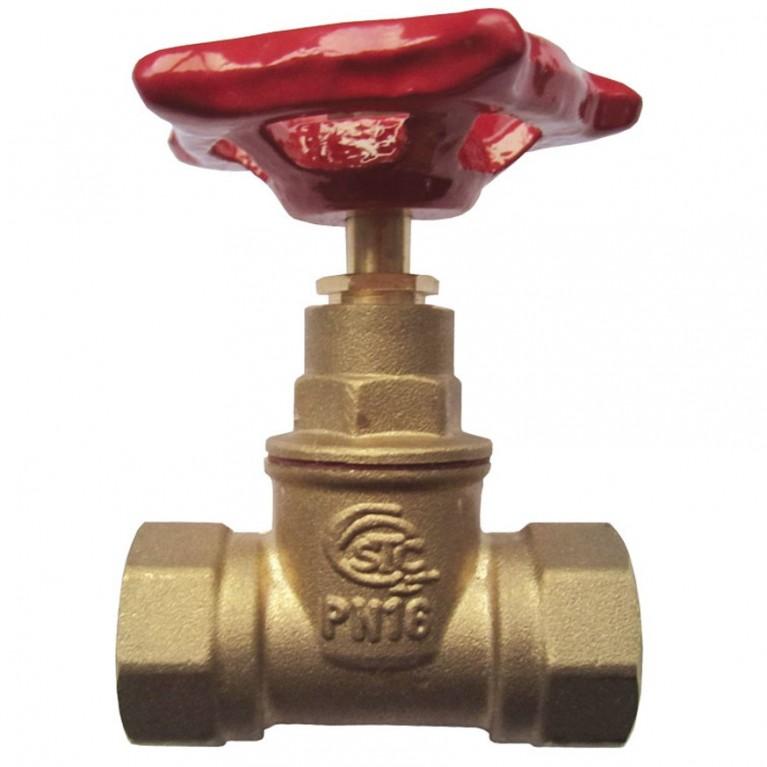Клапан запорн прямой латунь 15б1п ВР/ВР STC