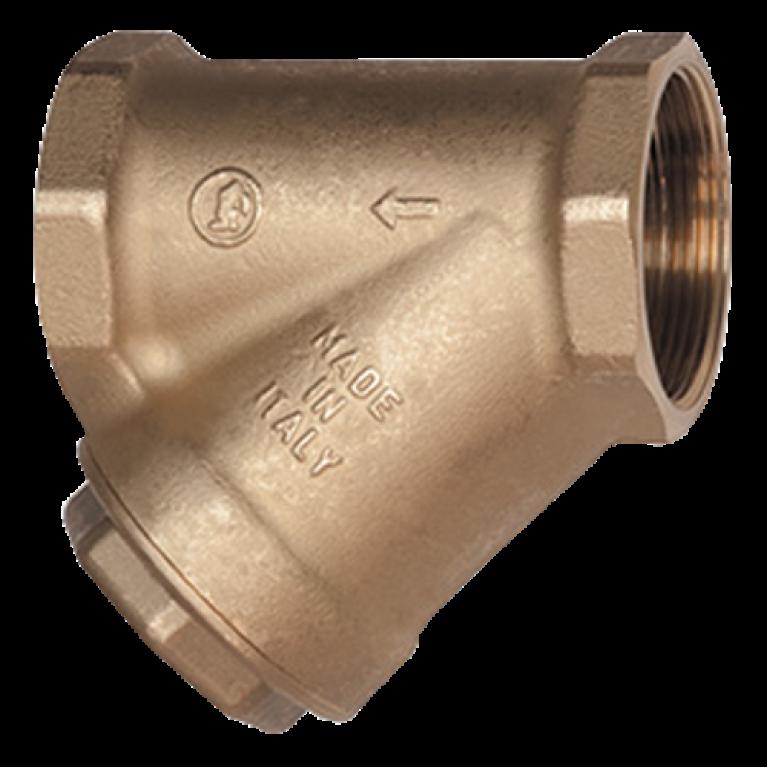 Фильтр сетчатый магнитный латунь R74M Ру16 ВР Giacomini