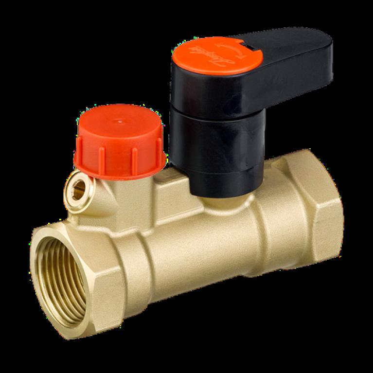 Клапан запорн MSV-S Ру20 ручной ВР/ВР Danfoss