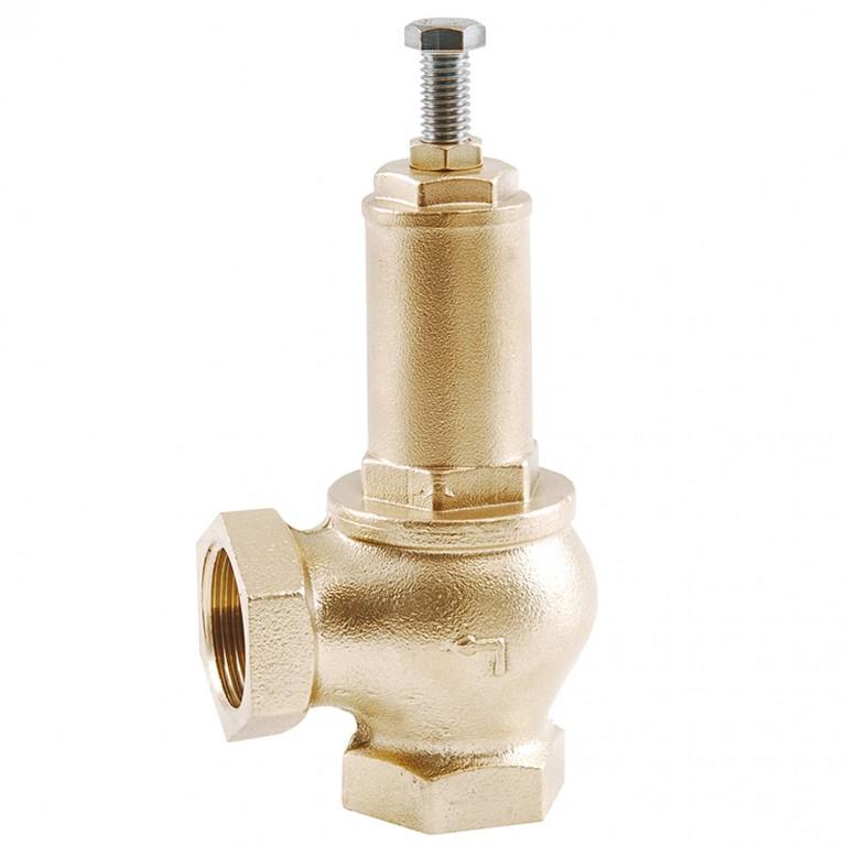 Клапан предохранительный латунь 1831 ВР/ВР угл OR