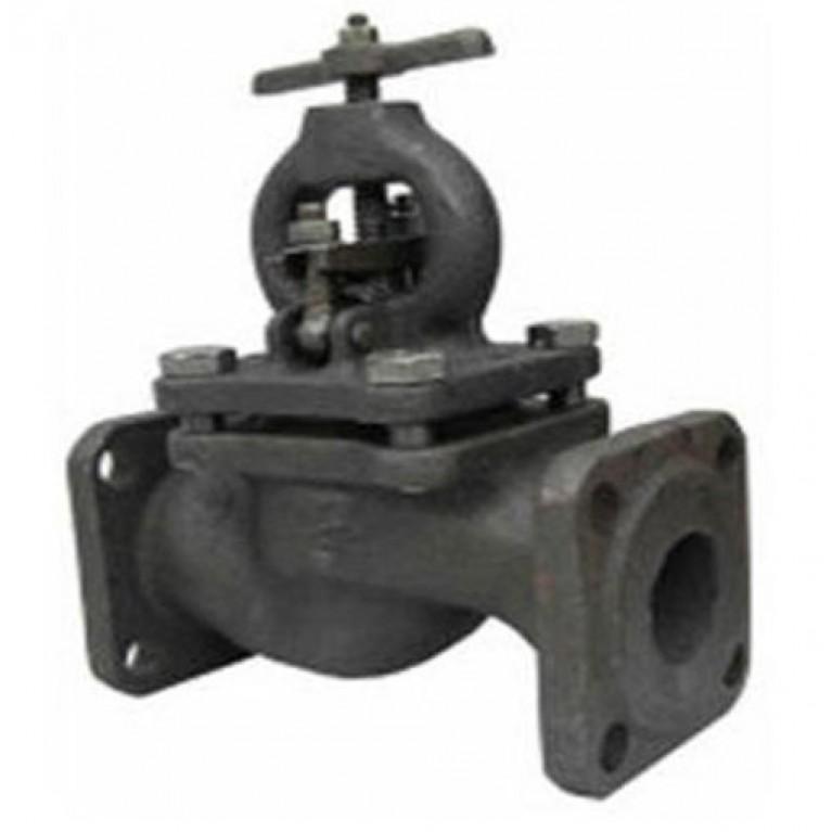 Клапан запорный чугун 15кч16нж фл