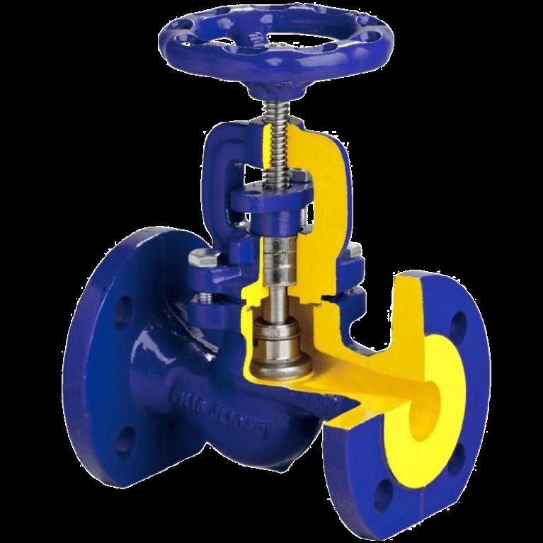 Клапан (вентиль) запорный чугун фл