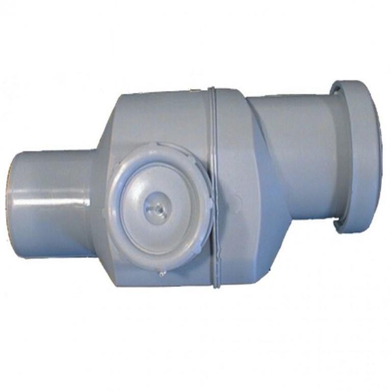 Клапан PP обратный серый HL