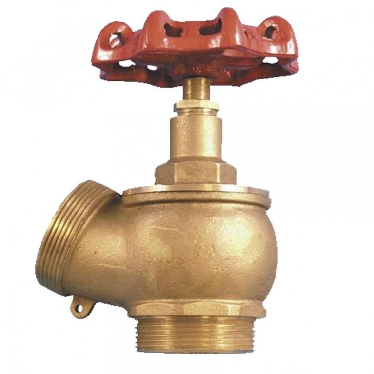 Клапан запорн угловой латунь 1б2р НР/НР STC