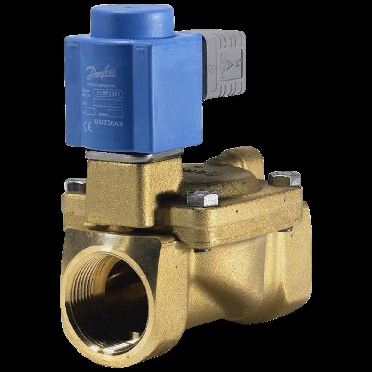 Клапан эл/магн латунь EV220B ВР/ВР Danfoss