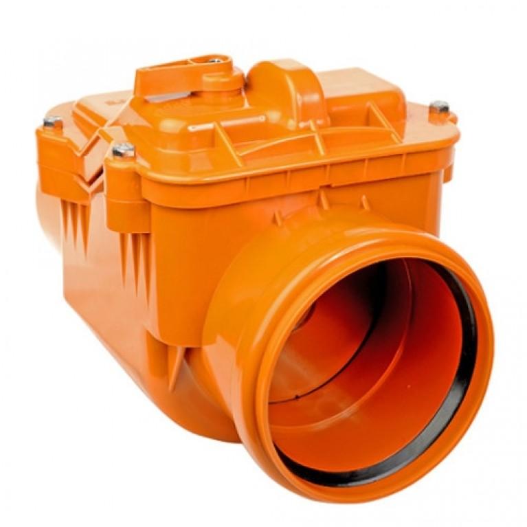 Клапан PP-B обратный коричневый РосТурПласт